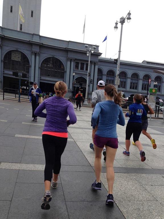 Cross country Flashback San Francisco Half Marathon Run