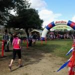 Hellyer Half Marathon Finish
