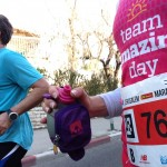 Running in the Jerusalem Marathon