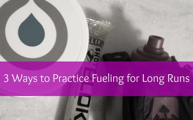 How to Practice Fueling On a Long Run