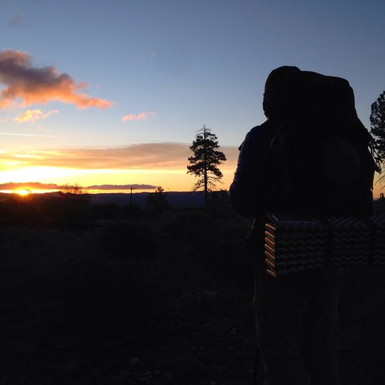 West Rim Trail Sunrise_Zion_DOTR