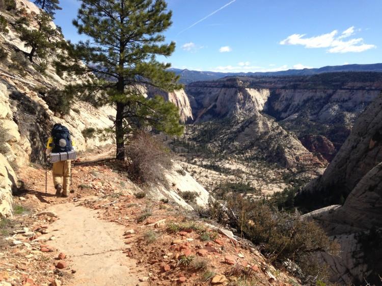West Rim Trail_Canyon Switchback_Zion