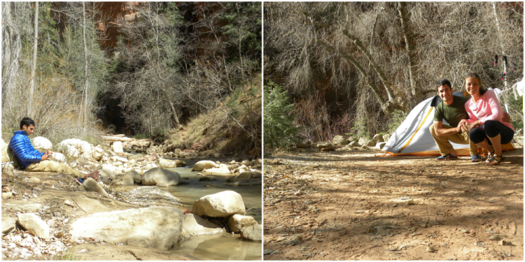 Willis Creek Trail Campsite_Zion_DOTR