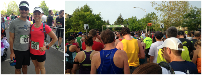 Eugene Marathon Starting Corrals _ Dietitian on the Run