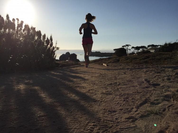 running in Monterey