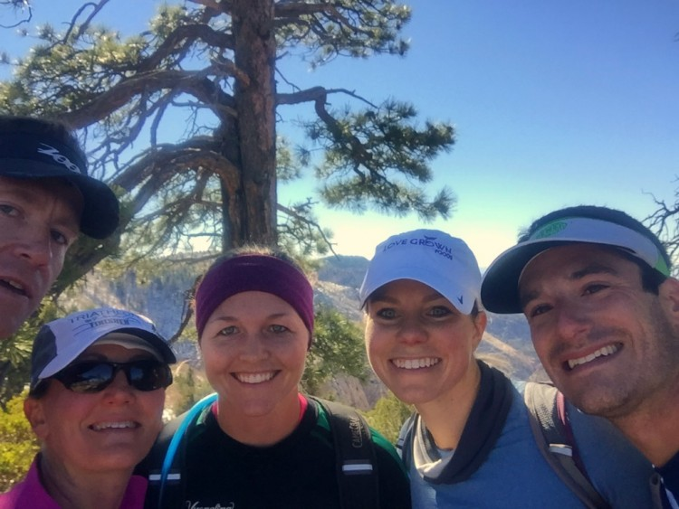 The Group Zion National Park Run