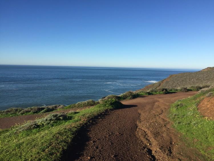 Running the Rodeo beach coastal trail