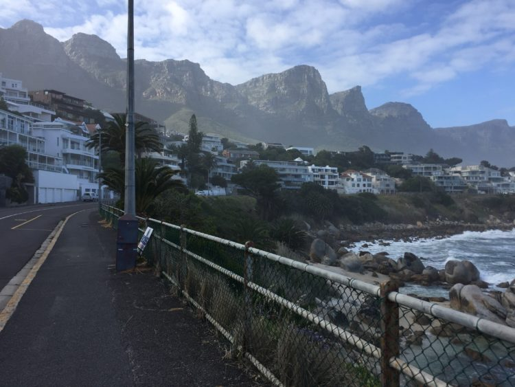 Cape town camps bay running