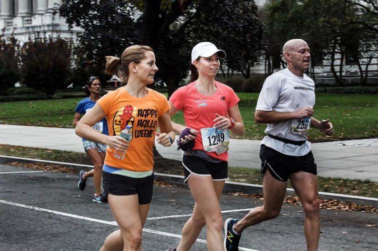 Mile 18 Marine Corps Marathon 2016
