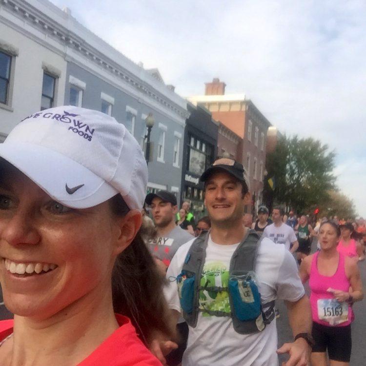 Marine corps marathon georgetown