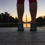 Lincoln Memorial sunrise run