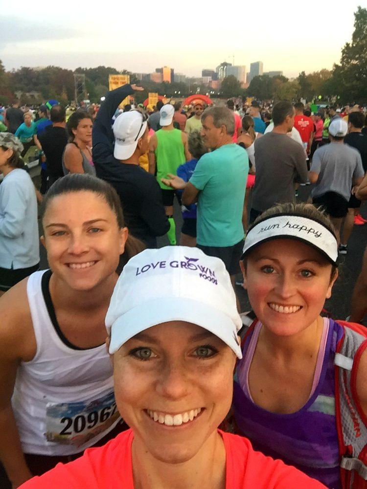 Marine Corps Marathon 2016 starting line