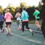 women running group