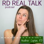 RD Real Talk podcast logo