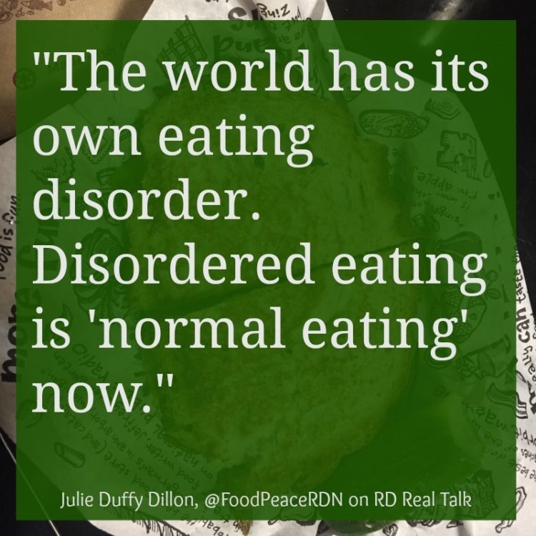 Julie Duffy Dillon Eating Disorder RD