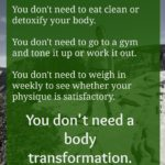 body transformation real talk