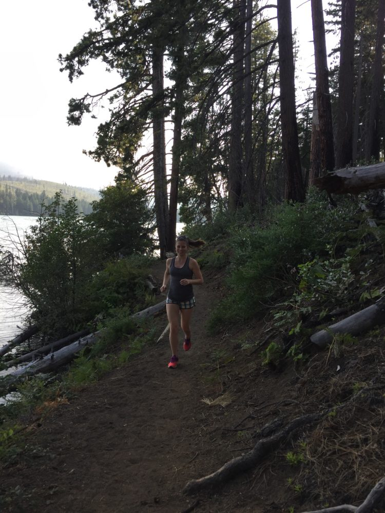 Wilder Running Suttle Lake