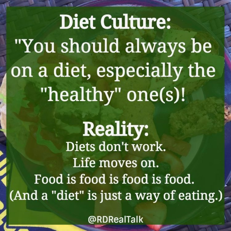 diet culture reality rd real talk