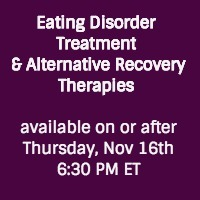 ED Recovery and Therapies RD Real Talk Round Table Event