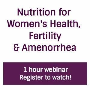 Nutrition for Women's Health Webinar