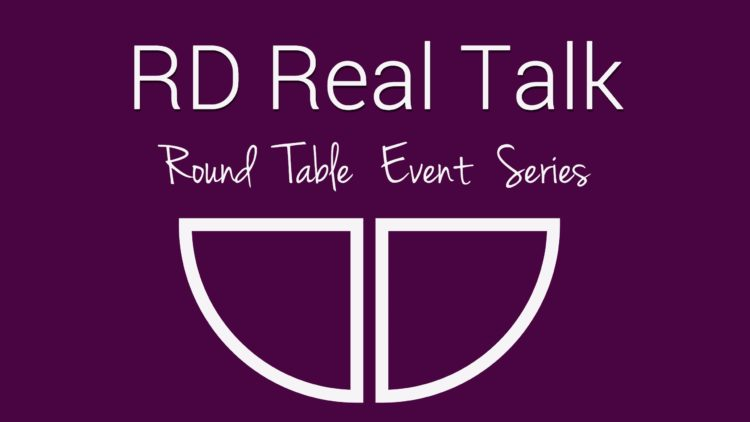 RD Real Talk Events logo