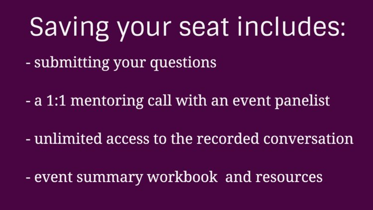 RD Real Talk Round Table Seat Registration