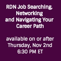 RDN job searching and networking event