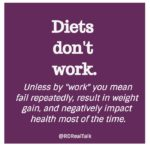 diets dont work quote
